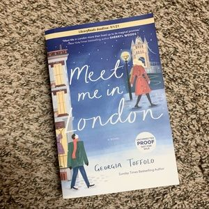 Meet Me in London by Georgia Toffolo ARC